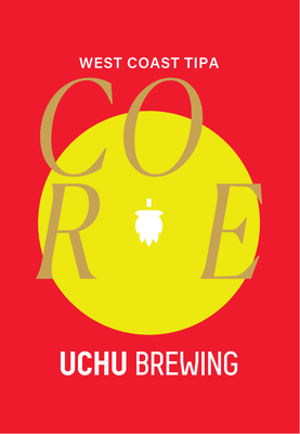 Uchu Brewing / CORE(うちゅうブルーイング コア TIPA)350ml缶