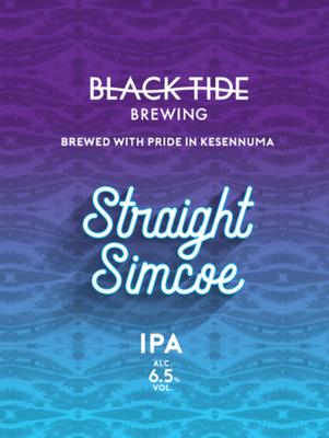 Black Tide Brewing /  Straight Simcoe(ブラックタイド ストレート シムコー)350ml