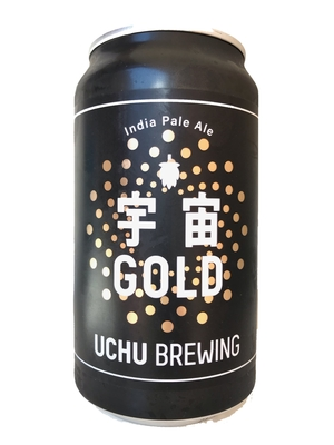 Uchu Brewing / 宇宙GOLD (うちゅうブルーイング うちゅうゴールド)350ml 缶