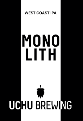 Uchu Brewing / MONOLITH(うちゅうブルーイング モノリス)350ml 缶