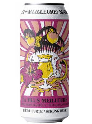 Laga Biere Brasserie Artisanale / TA PLUS MEILLEURE(ラガビエールブラッスリーアーティザナル タ・プリュ・メイユール)473ml