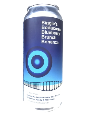 Alvarado Street Brewing / biggie's bodacious blueberry brunch bonanza(アルバラードストリート ボナンザ)473ml