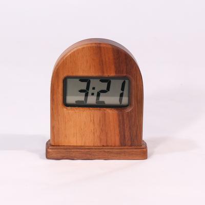 高級木製 デジタルクロック