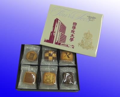 國學院大學オリジナルクッキー 18枚入り