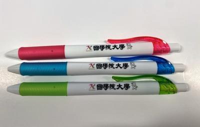 大学ロゴ・こくぴょん入りボールペン 3本セット